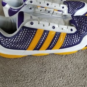 Adidas Derek Fisher Lakers Shoes 14